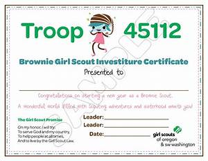 301 moved permanently With girl scout certificate templates