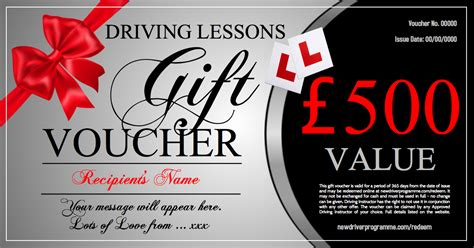 driving lesson gift vouchers   driving schools   uk