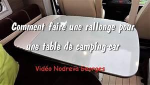 Comment Faire Une Bibliothèque : comment faire une rallonge de table de camping car youtube ~ Dode.kayakingforconservation.com Idées de Décoration
