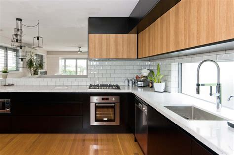 pictures of white kitchen cabinets with black appliances church st lilyfield premier kitchens 9883