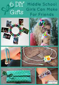 6 diy gifts middle school girls can make for friends