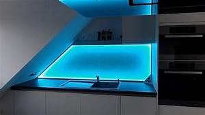 Küchenrückwand Glas Foto : k chenr ckwand glas beleuchtet ~ Michelbontemps.com Haus und Dekorationen