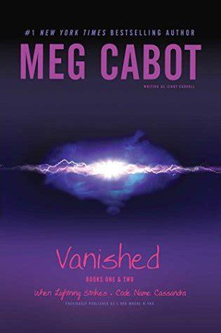 vanished  lightning strikes code  cassandra  meg cabot