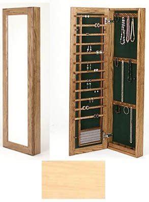 Large Wall Mounted Jewelry Cabinet   No Lock in Jewelry