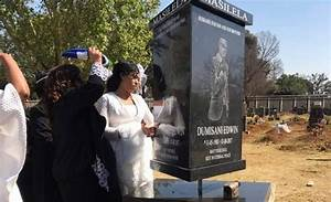 Dumi Masilela's rotating tombstone cost a whopping R160k