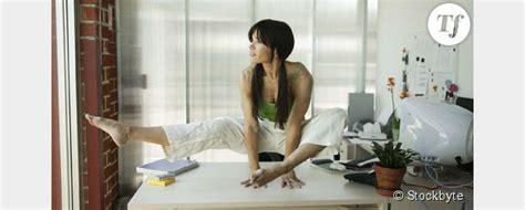 sport au bureau faire du sport au bureau 5 exercices à pratiquer devant