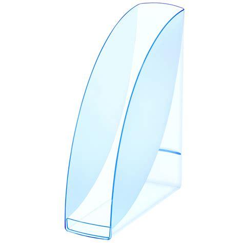 porte carte de visite de bureau cep blue porte revues transparent bleu porte revues