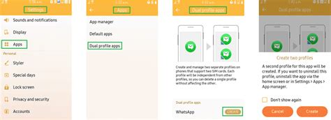 how to using two whatsapp accounts on the samsung z2