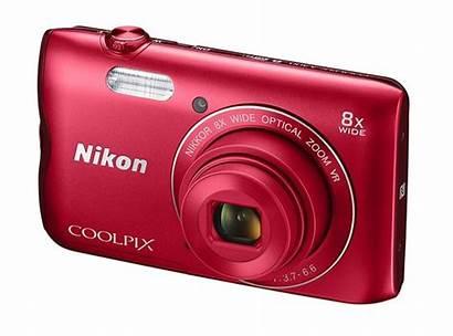 Nikon Coolpix A300 Camera Digital Lcd 8x