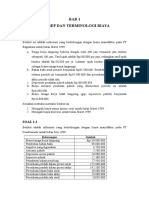 praktik akuntansi manajemen bab   soal  jawaban