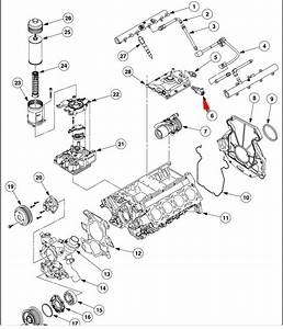 6 4l engine coolant flow diagram 6 free engine image for With pressure oil pump additionally ford 6 0 powerstroke engine diagram