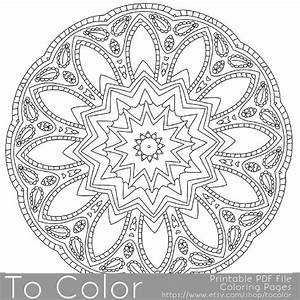 Intricate Printable Coloring Pages For Adults Gel Pens