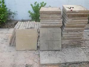 Dalle Gravillonnée 50x50 Pas Cher : dalle pour terrasse exterieur ~ Melissatoandfro.com Idées de Décoration