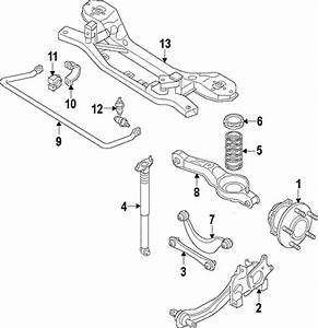 Rear Suspension For 2013 Ford C