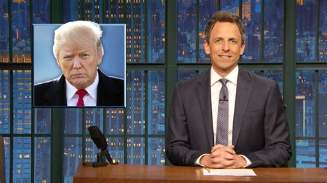 Watch Late Night with Seth Meyers Highlight: Trump's State ...