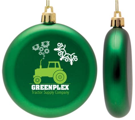 logo christmas ornaments full color