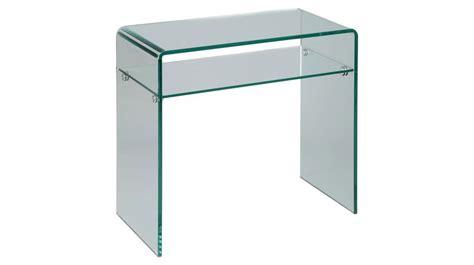 bureau console extensible 2 en 1 console en verre design un rayon meuble design