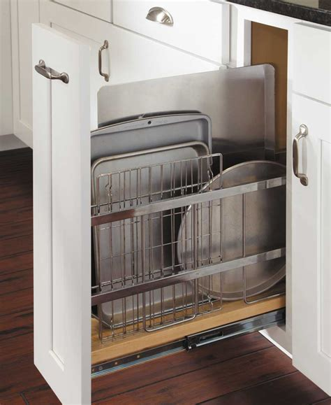 kitchen cabinet tray organizer tray divider pull out kitchen pinterest