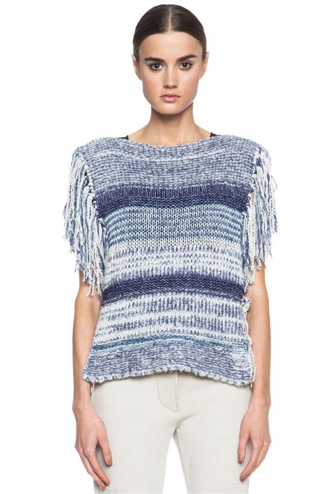 marant sweater étoile marant peyton sweater in blue lyst
