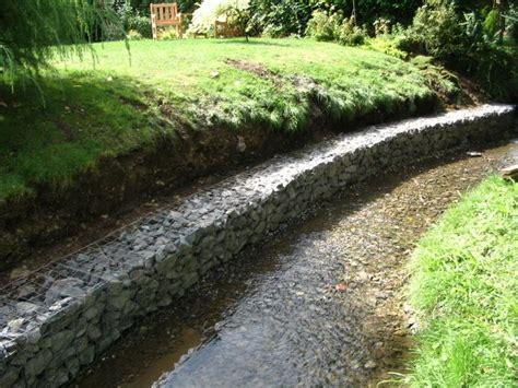 landscaping erosion methods gabions stream retention gabions pinterest gardens dean o gorman and erosion control
