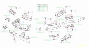 2006 Subaru Impreza Catalytic Converter  Front   Exhaust