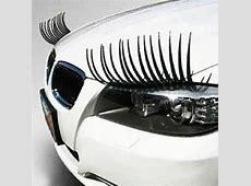 Cute Eyelash Car Sticker For The Two Headlights Hot