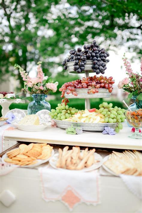 Summer Garden Party Decor And Food Inspiration  The House