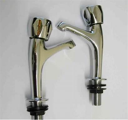 Taps Kitchen Neck Sink Pair Plumbing Pillar