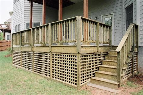 deck skirting ideas lattice would like to use this square lattice for skirting the