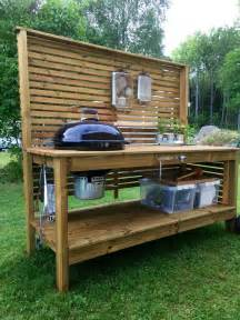 Potting Bench Pallets by Best 20 Bbq Table Ideas On Pinterest