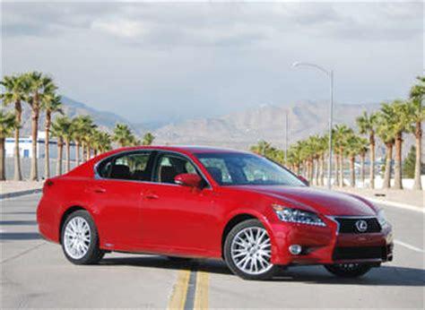 lifted lexus sedan lexus announces pricing for 2013 gs 450h facelifted rx