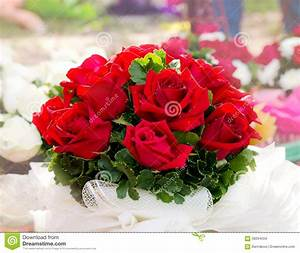 Beautiful Red Roses Bouquet Stock Photo - Image: 58264504