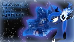 Gamer of the Night: Wallpaper by DangerCloseArt on DeviantArt