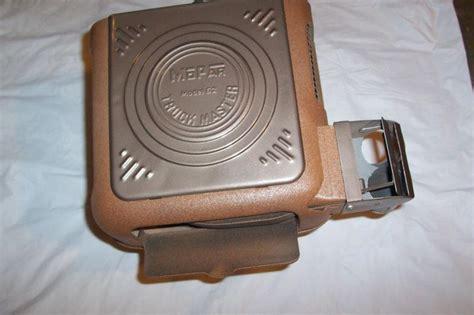 sell mopar truck master model  heater box