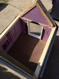 diy dog house insulated diy dog house pinterest dog With how to insulate a dog house