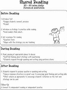 This Shared Reading Chart Is Great For Teachers And