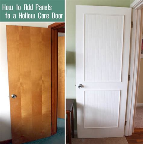 how to make flat panel cabinet doors how to add molding panels to a flat door pretty handy