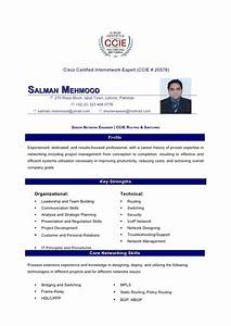 Ccna Resume Sample Salman Mahmood Resume