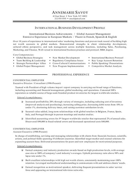 resume objective statement for college students international business resume objective international business