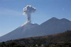 The Big Wobble: Guatemala's Volcano of Fire Fuego spews ...