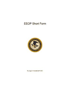 eeop short form eeop short form online fill online printable fillable