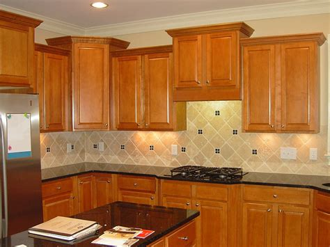 kitchen countertop ideas with oak cabinets kitchen backsplashes for black granite countertops with 9314