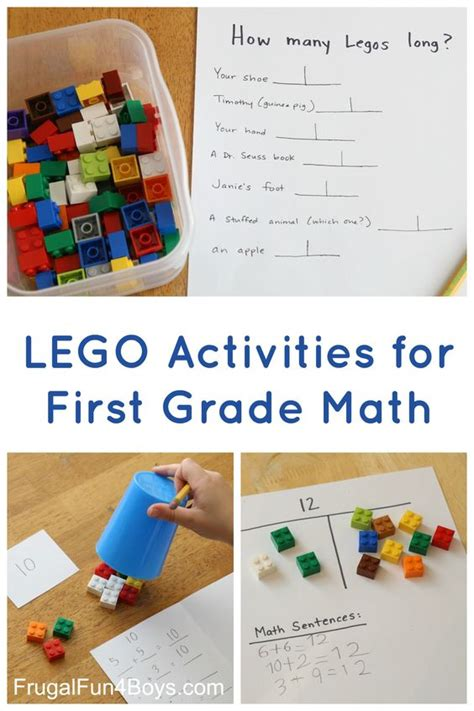 lego activities for grade math math