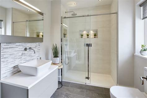 elegant master ensuite shower room  kingston bathroom