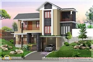 New Trendy 4bhk Kerala Home Design 2680 Sqft Kerala