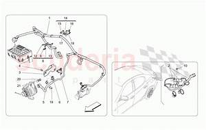 Maserati Ghibli  2017   Main Wiring Parts