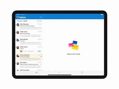 Outlook Ios App Update Ipad Microsoft Gadgets