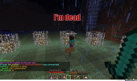 Minecraft Herobrine Memes - herobrine by leon13r meme center