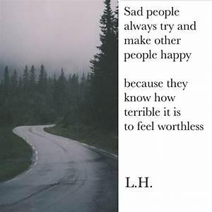 quote tumblr happy depressed depression sad quotes true ...
