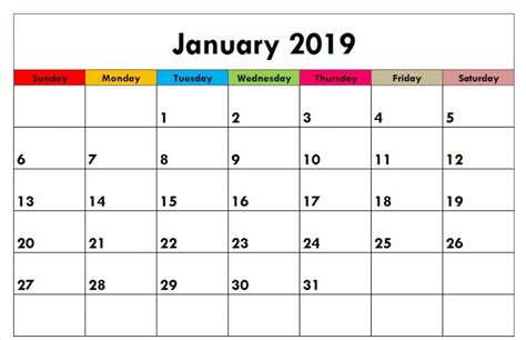january calendar printable templates january calendar medium